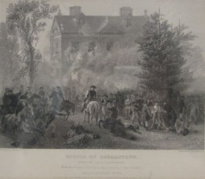 The Battle of Germantown. Attack on Chew's House, Johnson, Fry & Co. Publishers, 1860.
