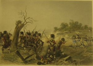 Battle of Harlem, Engraver: J. R. Armytage, c. 1860.